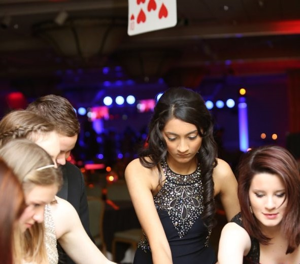 Students Play Blackjack