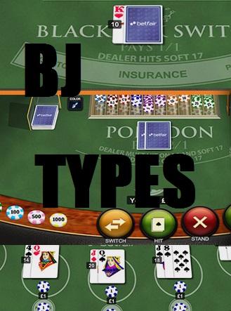 Online Blackjack Variations