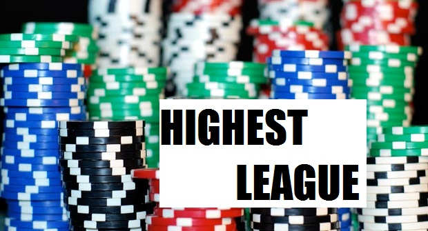 Highest League in Online Blackjack