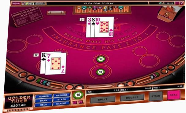 No Deposit Blackjack Bonus from Microgaming for Duke Graduates