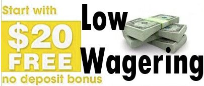 Low Wagering of Microgaming No Deposit Bonus for Students